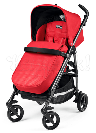 Коляска прогулочная PEG-PEREGO SI COMPLETO MOD RED