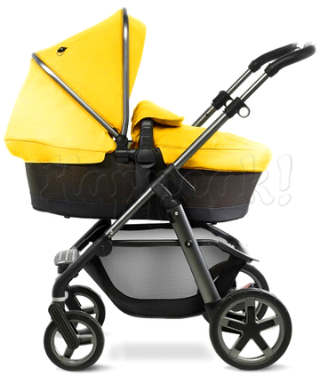 Коляска SILVER CROSS PIONEER GRAPHITE YELLOW  2 В 1