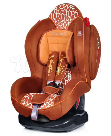 Автокресло WELLDON SMART SPORT SIDE ARMOR&CUDDLE ME JIRAFFE TALK