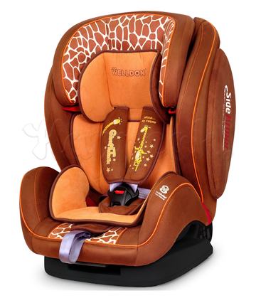 Автокресло WELLDON ENCORE FIT SIDE ARMOR&CUDDLE ME GIRAFFE TALK