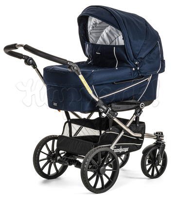 Коляска EMMALJUNGA EDGE DUO COMBI 12601 NAVY 2016 2 В 1 на шасси CITY CRYPTONITE
