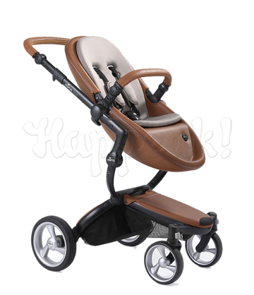 Коляска MIMA XARI FLAIR 2G CAMEL ASH BROWN 2 В 1 на шасси BLACK