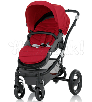 Коляска BRITAX AFFINITY BLACK CHILI PEPPER