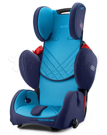 Автокресло RECARO YOUNG SPORT HERO BLACK