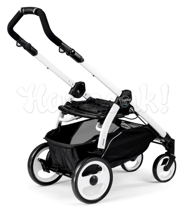Коляска прогулочная PEG-PEREGO BOOK PLUS 51 WHITE POP-UP CREAM