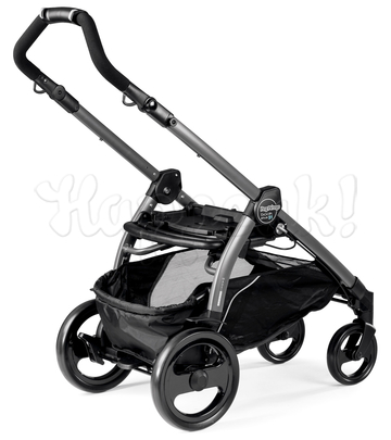 Коляска PEG-PEREGO BOOK PLUS 51 COMPLETO MODULAR BLUE DENIM  3 В 1 на шасси JET