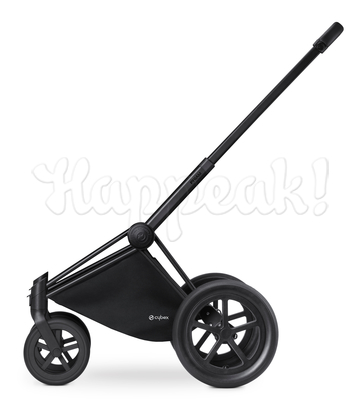 Коляска CYBEX PRIAM LUX HOT & SPICY 2 В 1 на раме ALL TERRAIN MATT BLACK