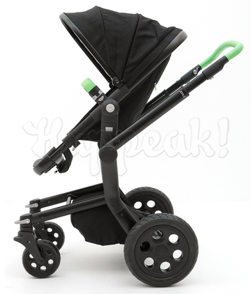 Коляска JOOLZ DAY TAILOR GRAPHITE BLACK WHEELS EMERALD GREEN  2 В 1