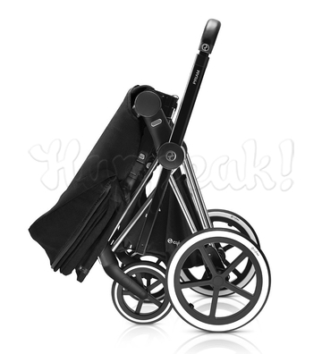 Коляска CYBEX PRIAM LUX HOT & SPICY 2 В 1 на раме TREKKING MATT BLACK