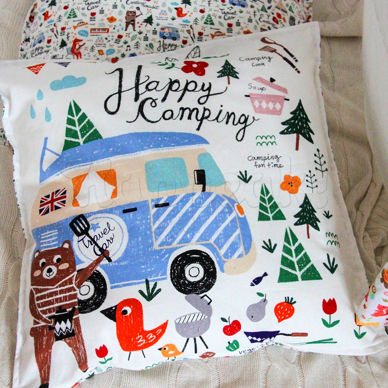 Подушка VAMVIGVAM HAPPY CAMPING 50 х 50