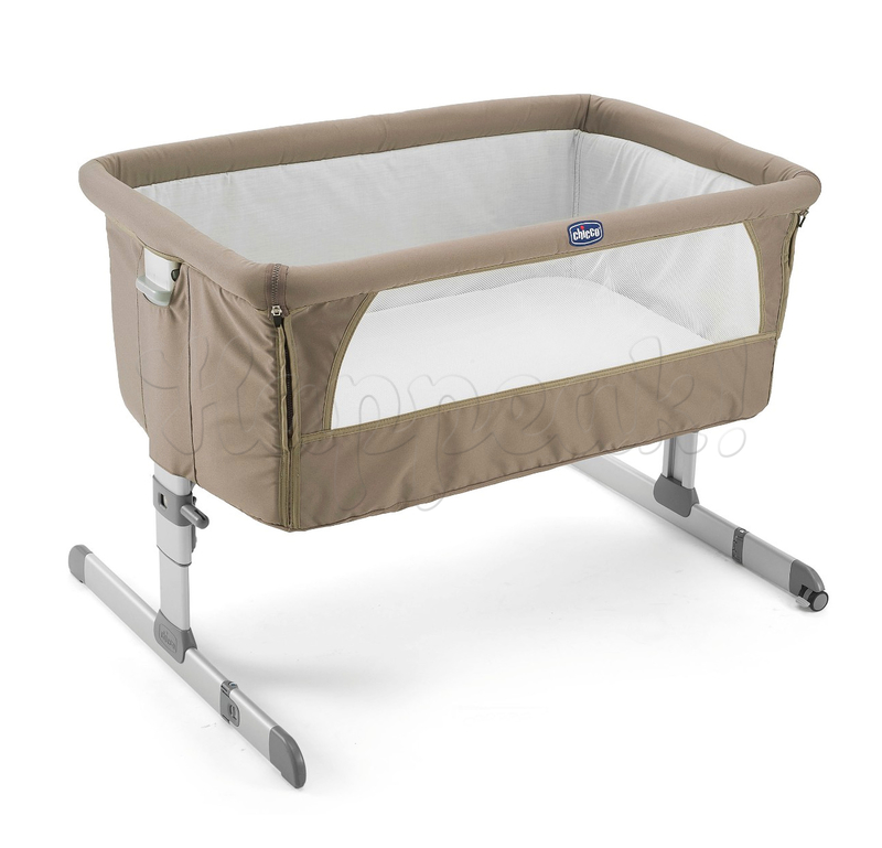 Кроватка CHICCO NEXT2ME GREY
