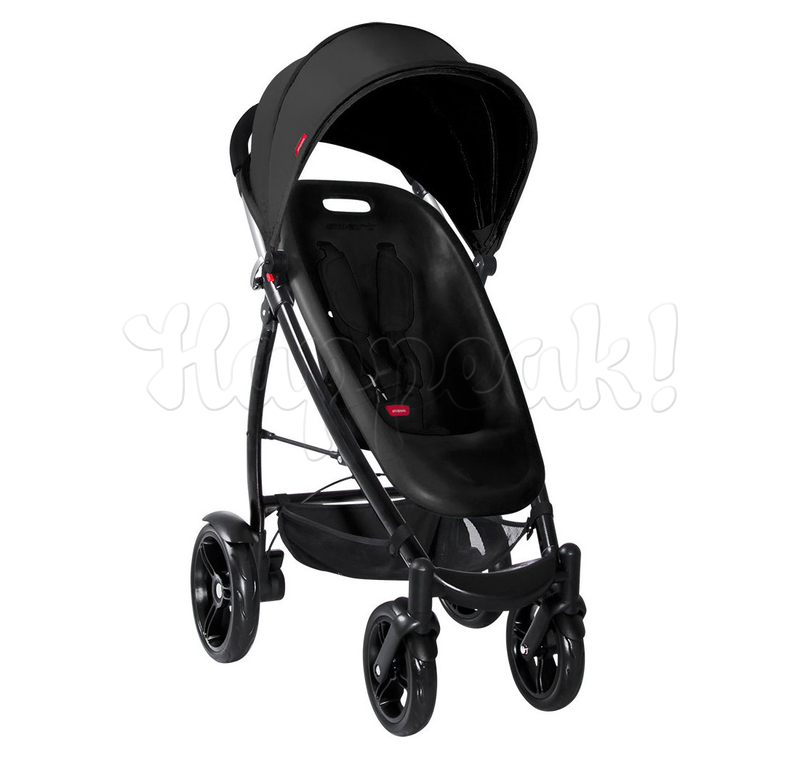 Коляска PHIL AND TEDS SMART 2 BLACK 2 В 1