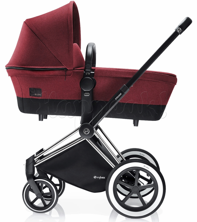 Коляска CYBEX PRIAM LUX HOT & SPICY 3 В 1 на раме TREKKING + CLOUD Q PLUS