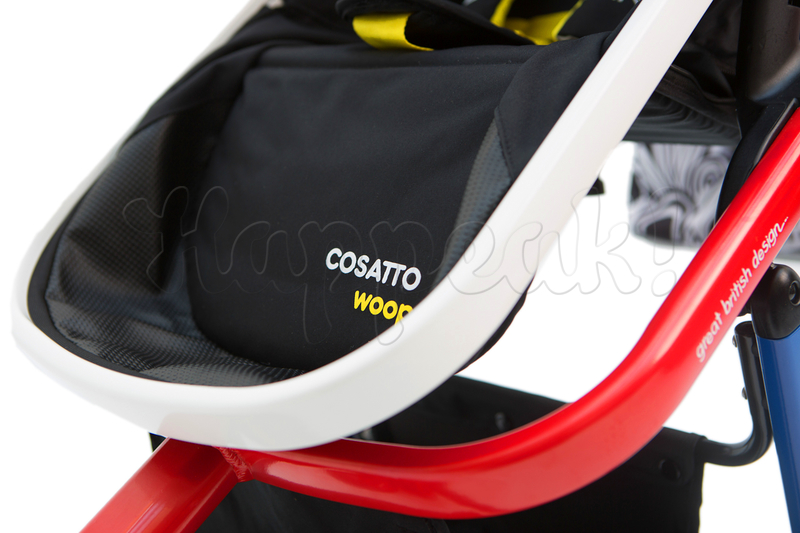 Коляска COSATTO WOOP NIGHTBIRD 3 В 1