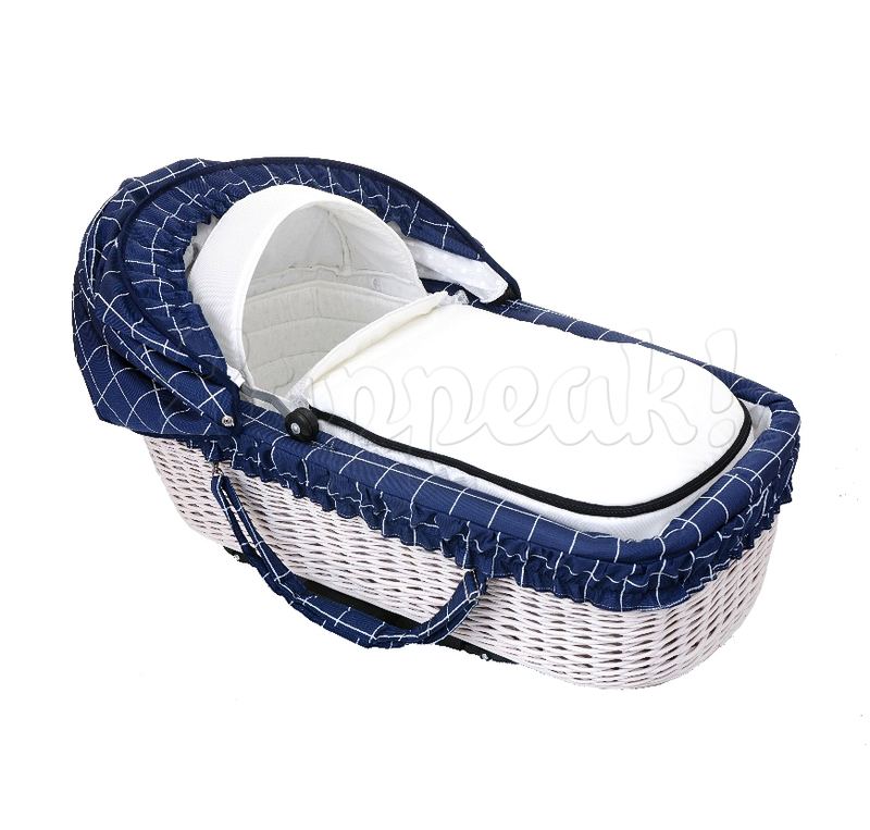 Коляска LONEX CLASSIK RETRO BLUE CHECKERED 2 В 1