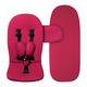 Коляска MIMA XARI FLAIR 2G BLACK HOT MAGENTA 2 В 1 на шасси BLACK