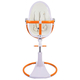 Стул для кормления BLOOM FRESCO CHROME GIRO WHITE ORANGE