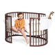 Кровать STOKKE SLEEPI WALNUT BROWN