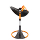 Стул для кормления BLOOM FRESCO CHROME GIRO BLACK ORANGE