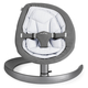Шезлонг NUNA LEAF CURV ROCKER FRENCH GREY