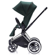 Коляска CYBEX PRIAM LUX HAWAII 3 В 1 на раме ALL TERRAIN MATT BLACK+CLOUD Q PLUS