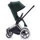 Коляска CYBEX PRIAM LUX HAWAII 2 В 1 на раме TREKKING MATT BLACK