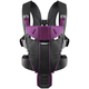 Рюкзак-кенгуру BABYBJORN MIRACLE COTTON MIX BLACK PURPLE