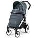 Коляска PEG-PEREGO BOOK PLUS 51 COMPLETO MODULAR BLUE DENIM  3 В 1 на шасси WHITE