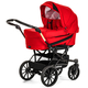 Коляска EMMALJUNGA EDGE DUO COMBI 12619 RED 2016  2 В 1 на шасси DE LUXE CHROME