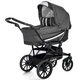 Коляска EMMALJUNGA EDGE DUO COMBI 12624 DARK GREY 2016  2 В 1 на шасси CLASSIC CHROME