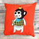 Подушка VAMVIGVAM MONKEY RED 30 х 30