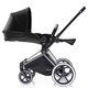 Коляска CYBEX PRIAM LUX BLACK BEAUTY 3 В 1 на раме TREKKING + ATON Q PLUS