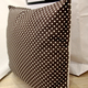 Подушка ручной работы VAMVIGVAM BROWN DOTS 40 х 40