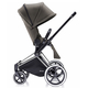 Коляска CYBEX PRIAM LUX DESERT KHAKI 3 В 1 на раме ALL TERRAIN MATT BLACK + ATON Q PLUS