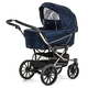 Коляска EMMALJUNGA EDGE DUO COMBI 12601 NAVY 2016  2 В 1 на шасси DE LUXE CHROME