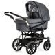 Коляска EMMALJUNGA EDGE DUO COMBI 12609 LOUNGE GREY 2016  2 В 1 на шасси CLASSIC CHROME