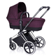 Коляска CYBEX PRIAM LUX GRAPE JUICE 2 В 1 на раме ALL TERRAIN