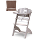 Стул для кормления CHILDHOME LAMBDA 2 STONE GREY - WARM GREY