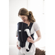 Рюкзак-кенгуру BABYBJORN ORIGINAL COTTON JERSEY DARK GREY - GREY