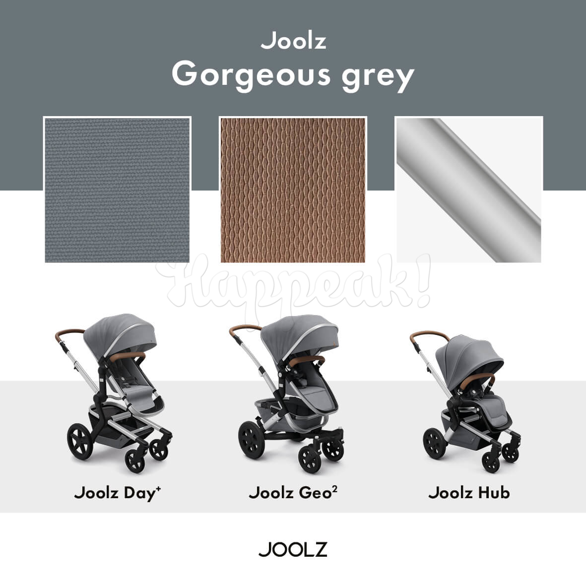 Коляска JOOLZ Geo2 GORGEOUS GREY 2 В 1