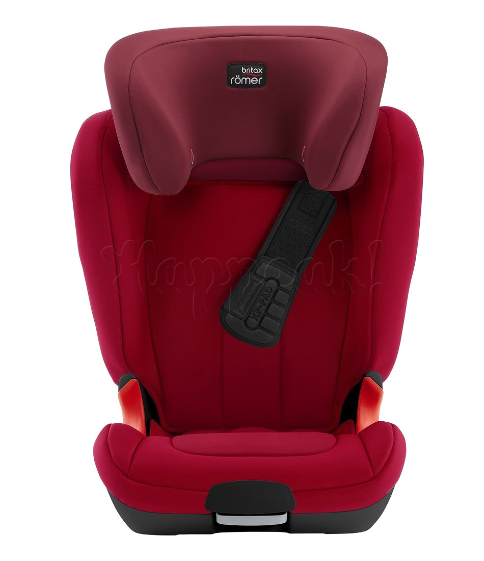 Автокресло BRITAX ROMER KIDFIX XP BLACK SERIES FLAME RED
