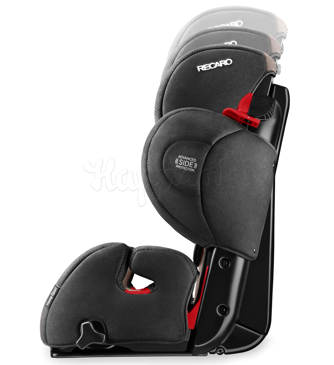 Автокресло RECARO YOUNG SPORT HERO RUBY
