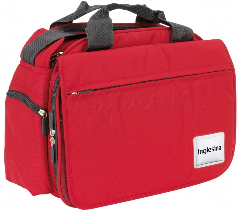 Сумка для мамы INGLESINA MY BABY BAG RED