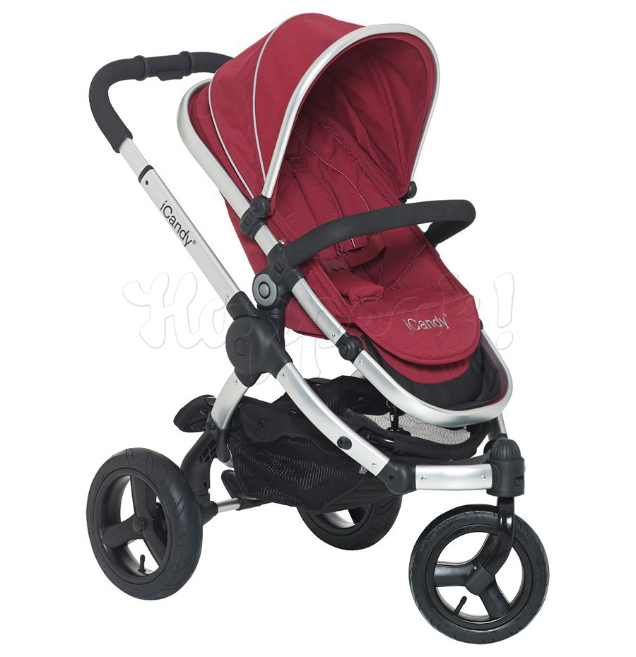 Коляска ICANDY PEACH JOGGER CRANBERRY 2 В 1