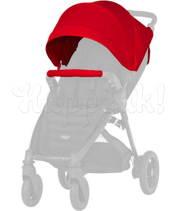 Капор для колясок BRITAX B-AGILE 4 PLUS и B-MOTION 4 PLUS FLAME RED