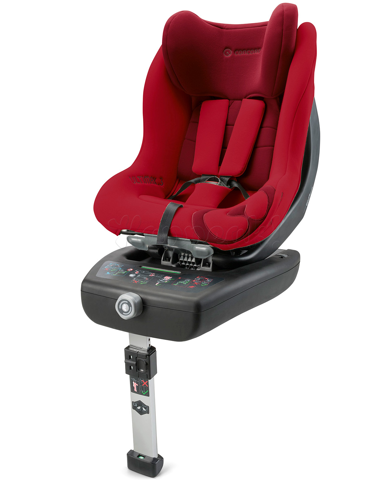 Автокресло CONCORD ULTIMAX.3 RUBY RED