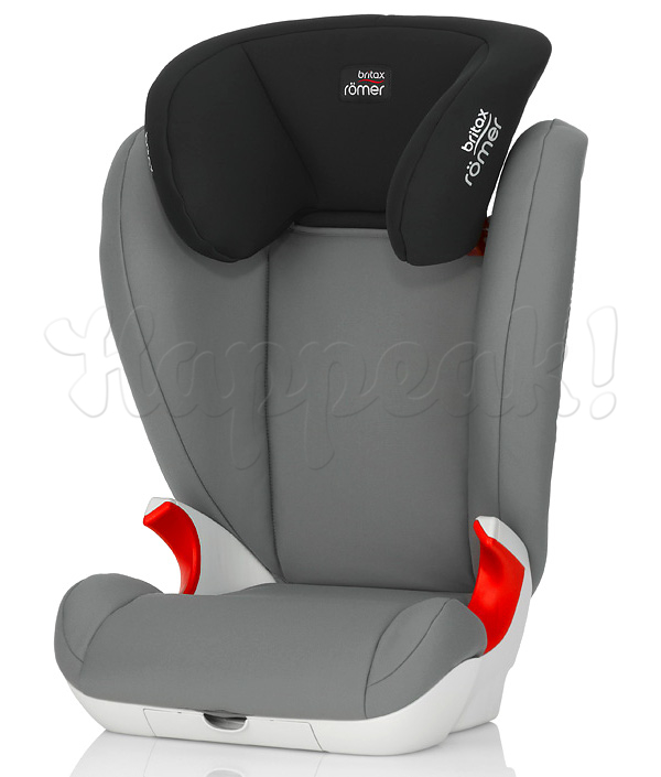 Автокресло BRITAX ROEMER KID II STEEL GREY