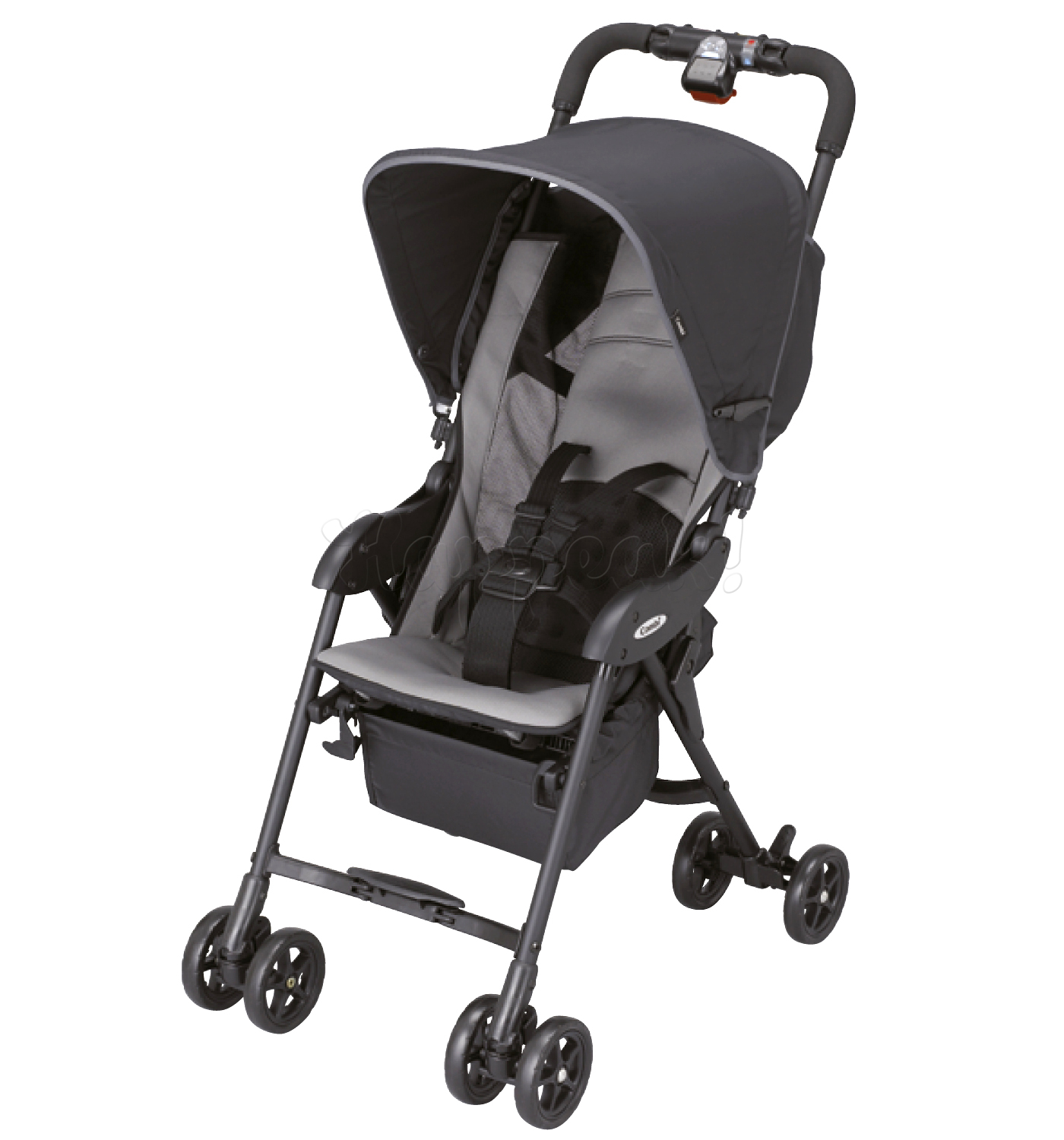 Коляска COMBI QUICKKIDS AIR BLACK