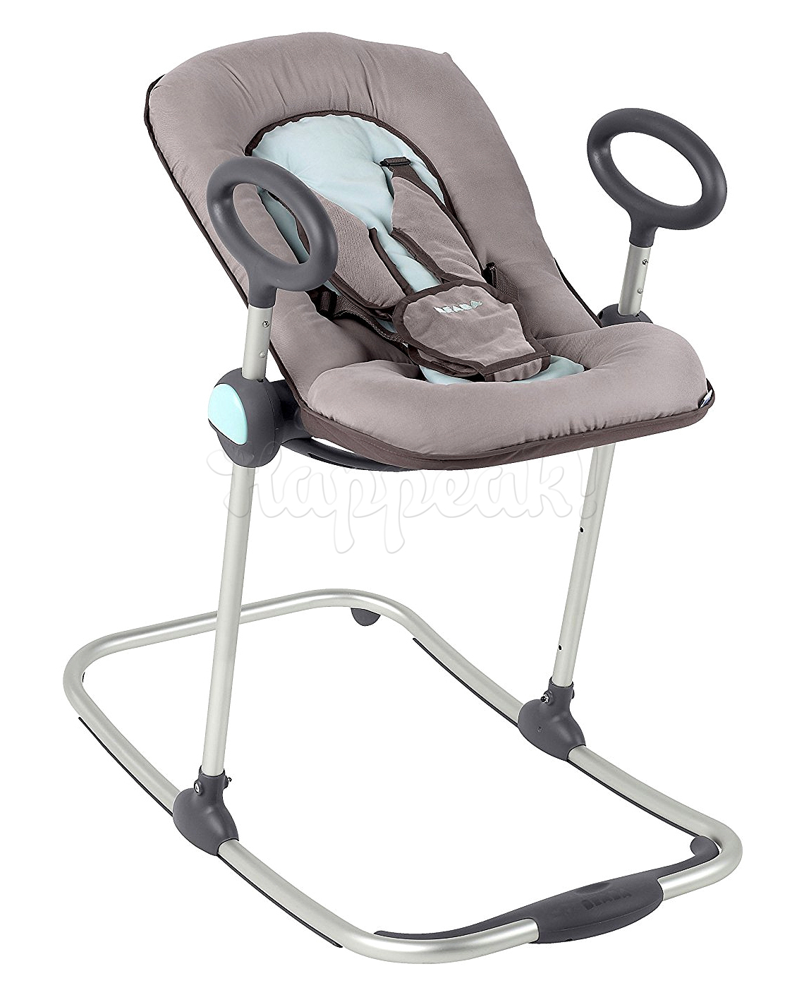 Шезлонг BEABA BOUNCER UP&DOWN PASTEL BLUE