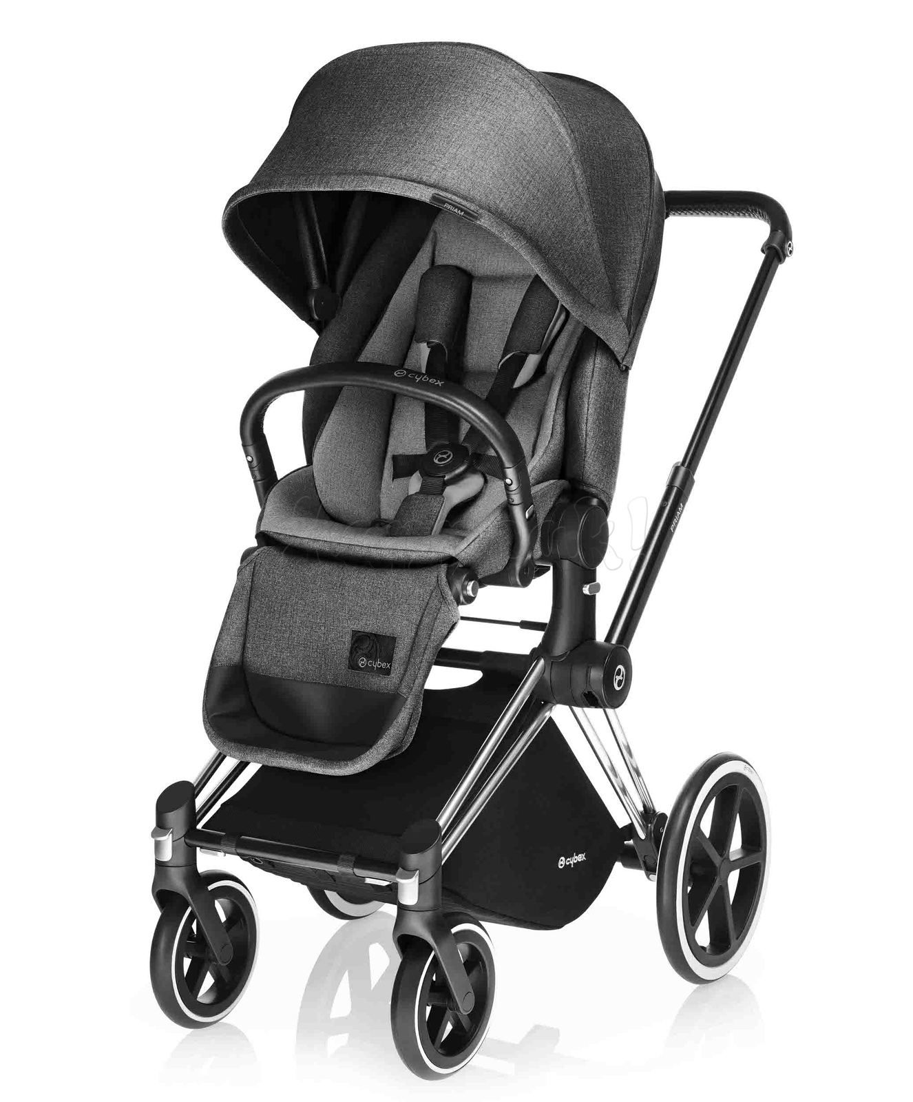 Коляска CYBEX PRIAM LUX MANHATTAN GREY 2 В 1 на раме TREKKING